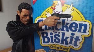 Plastic Clive Owen is a better Dwight than Josh Brolin could ever hope to be.