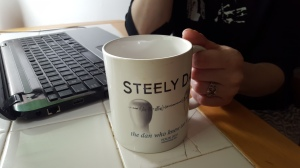 They got the shapely bodies...they got the Steely Dan coffee mug...